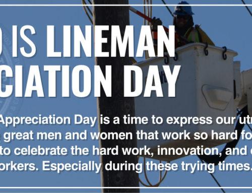 LINEMEN APPRECIATION DAY
